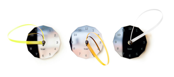 Loops Clock by Toer in main home furnishings  Category