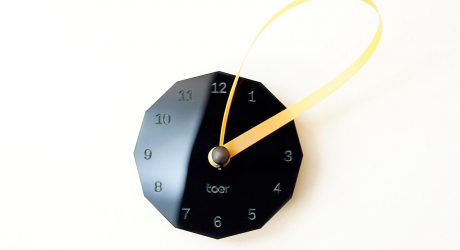 Loops Clock by Toer