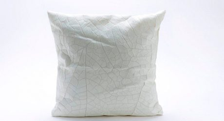 Leaf Vein Pillows by Mika Barr