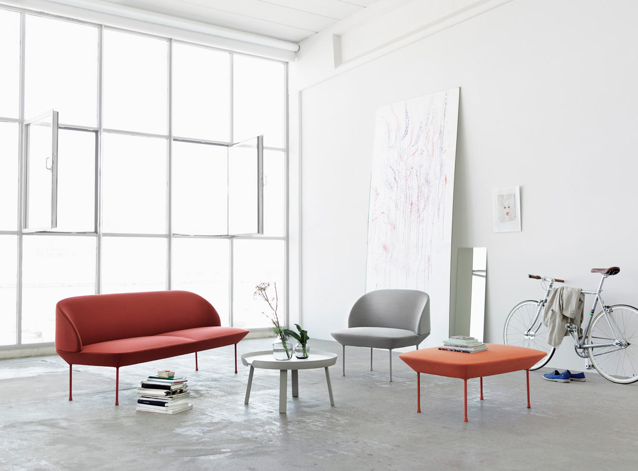 OSLO Sofa Line by Anderssen & Voll for Muuto