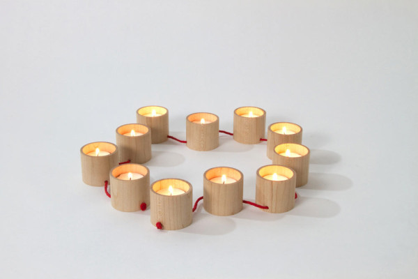 String It Along: Lys Candelabra by Matte Berit Nyberg in main home furnishings  Category