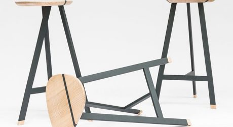 Olo Stool by Trust in Design