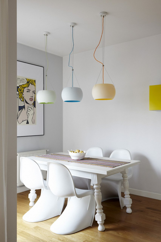 12 Ways to Use Panton Chairs Inside and Outdoors Design Milk