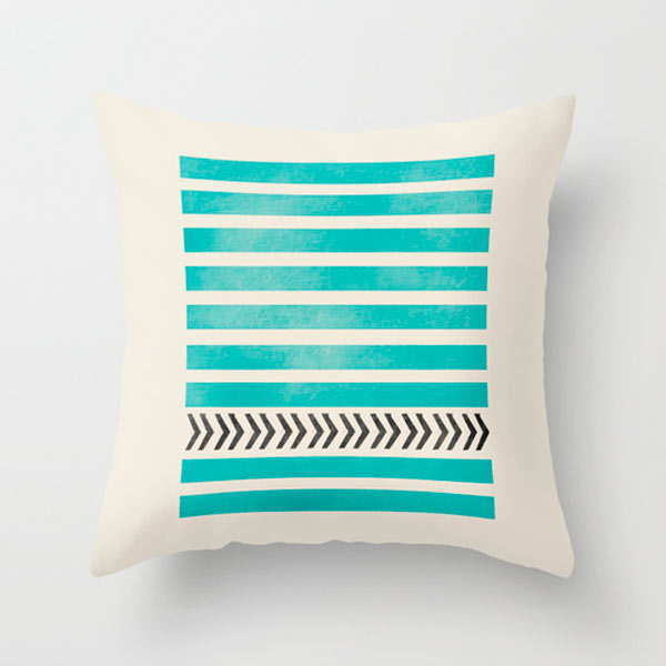 s6-teal-stripes-arrow-outdoor-pillow