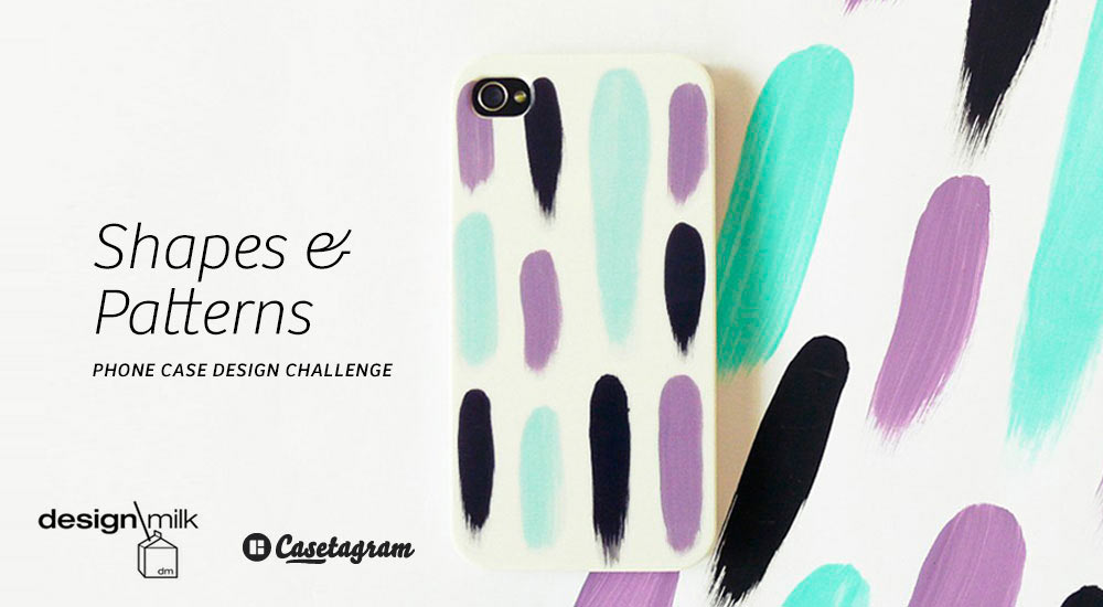 The Design Milk x Casetagram Phone Case Design Challenge