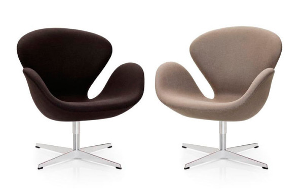 Making a Modern Mark in Manufacturing Swan Chair Design Milk