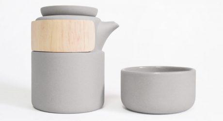Take Breath Tea Pot by Pinyen Creative