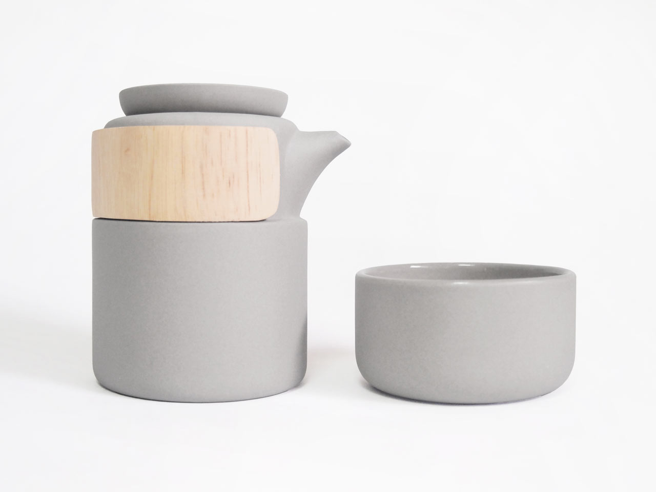 Take Breath Tea Pot by Pinyen Creative