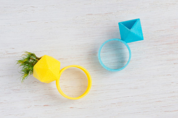 3D Printed Wearable Planter Ring in style fashion main  Category
