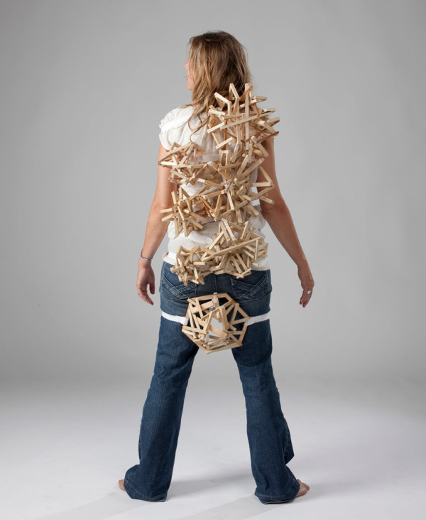 Wearable Sculptures by Tracy Featherstone in style fashion main art  Category