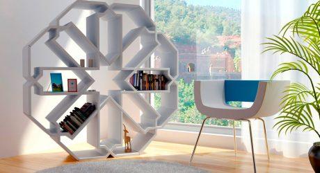 Zelli and Mini Zelli Bookshelves
