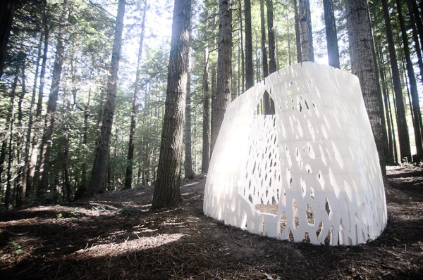 Worlds First 3D Printed Architecture by Smith Allen Studio in main architecture  Category