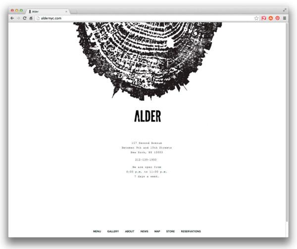 Alder-restaurant