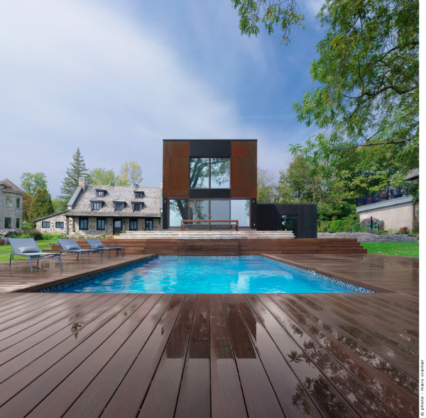 Bord du Lac House by Henri Cleinge in main architecture  Category