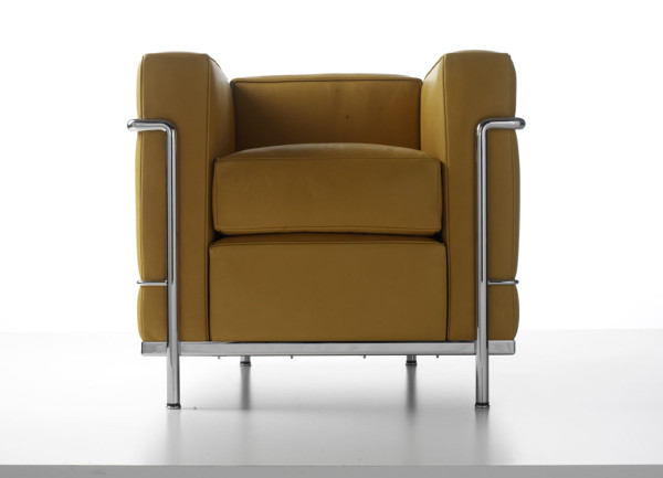 Cassina Gets Colorful + Serious About Authenticity with LC2 in main home furnishings  Category