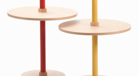 Screw-Like Furniture by Carlo Contin