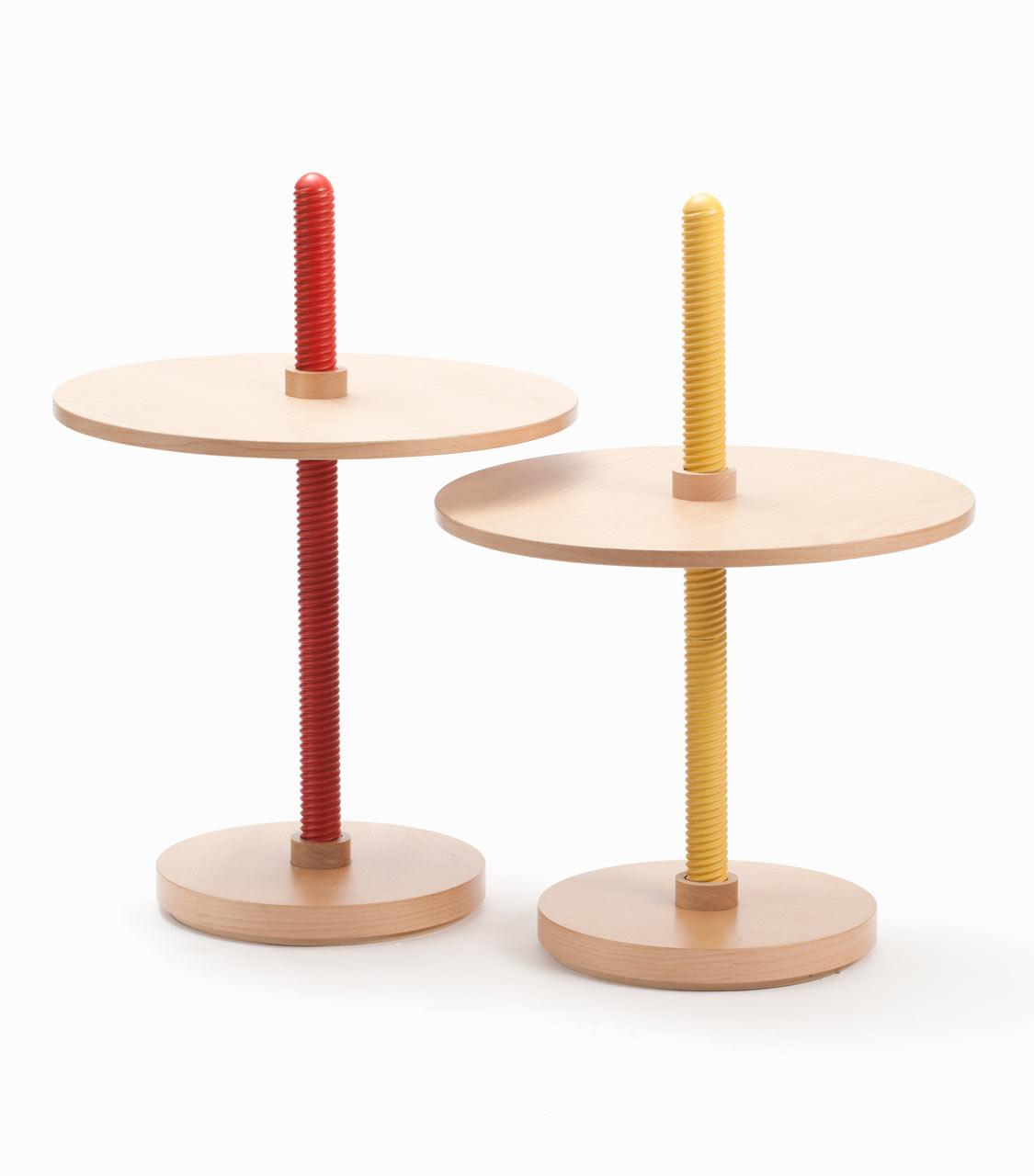 Screw-Like Furniture by Carlo Contin