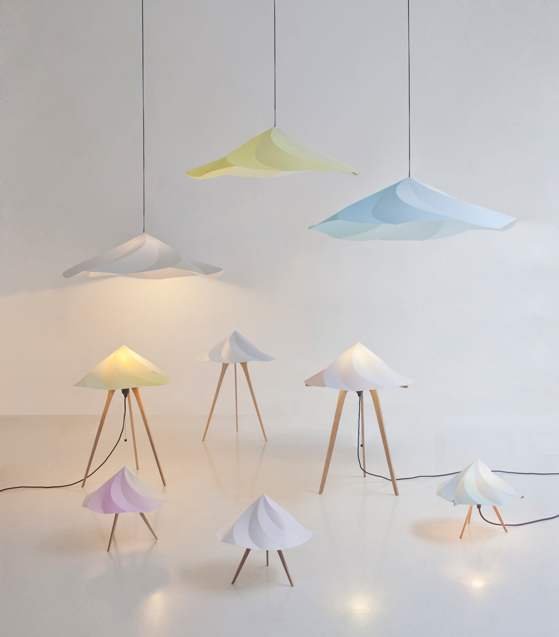 Chantilly Lamps by Constance Guisset for Moustache