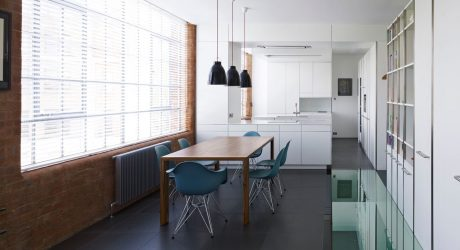 Two Apartments Joined in Warehouse by Coffey Architects