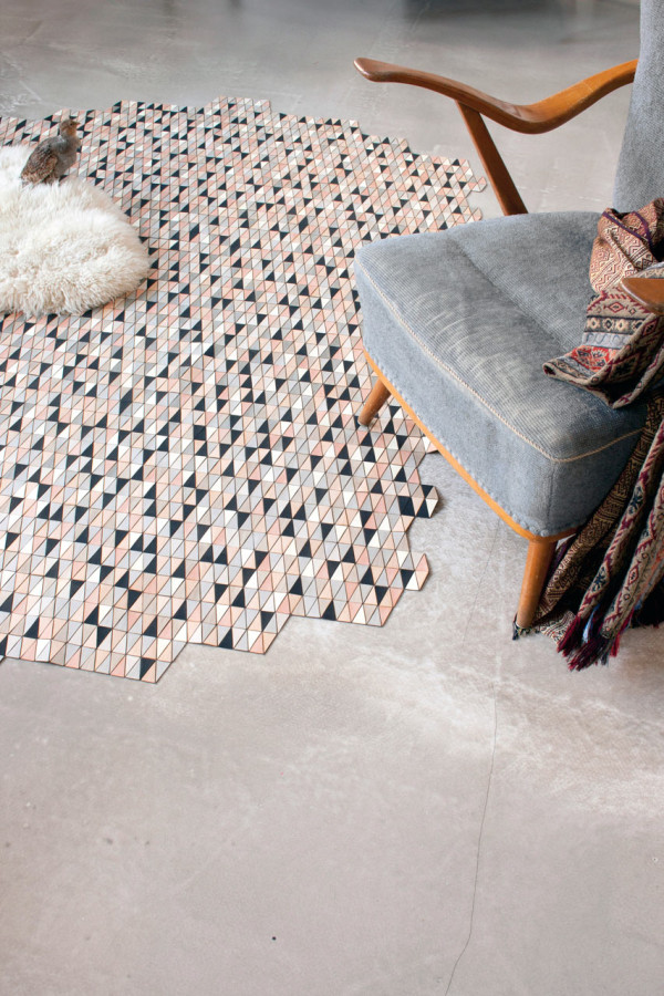 Colored Wooden Rugs by Elisa Strozyk in main home furnishings art  Category