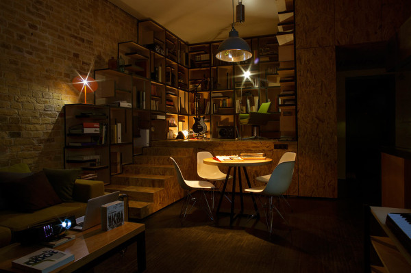 Constant Motion Loft by Alex Bykov in main interior design architecture  Category