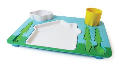Children's Landscape Dinner Set by DOIY