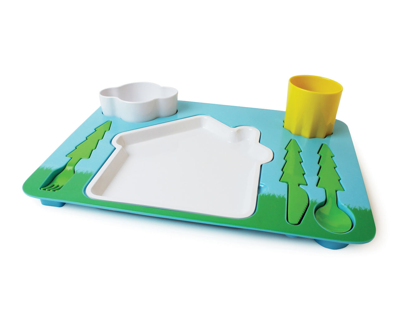 Children's Landscape Dinner Set by DOIY