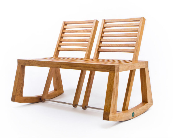 Double View Bench by Chloe De La Chaise in main home furnishings  Category
