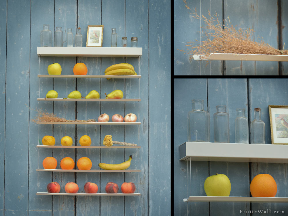 """backReturn to """"Fruit-Wall: A Smart Way to Store Your Fruits & Veggies"""""""