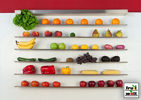 Fruit Wall: A Smart Way to Store Your Fruits & Veggies in main home furnishings  Category