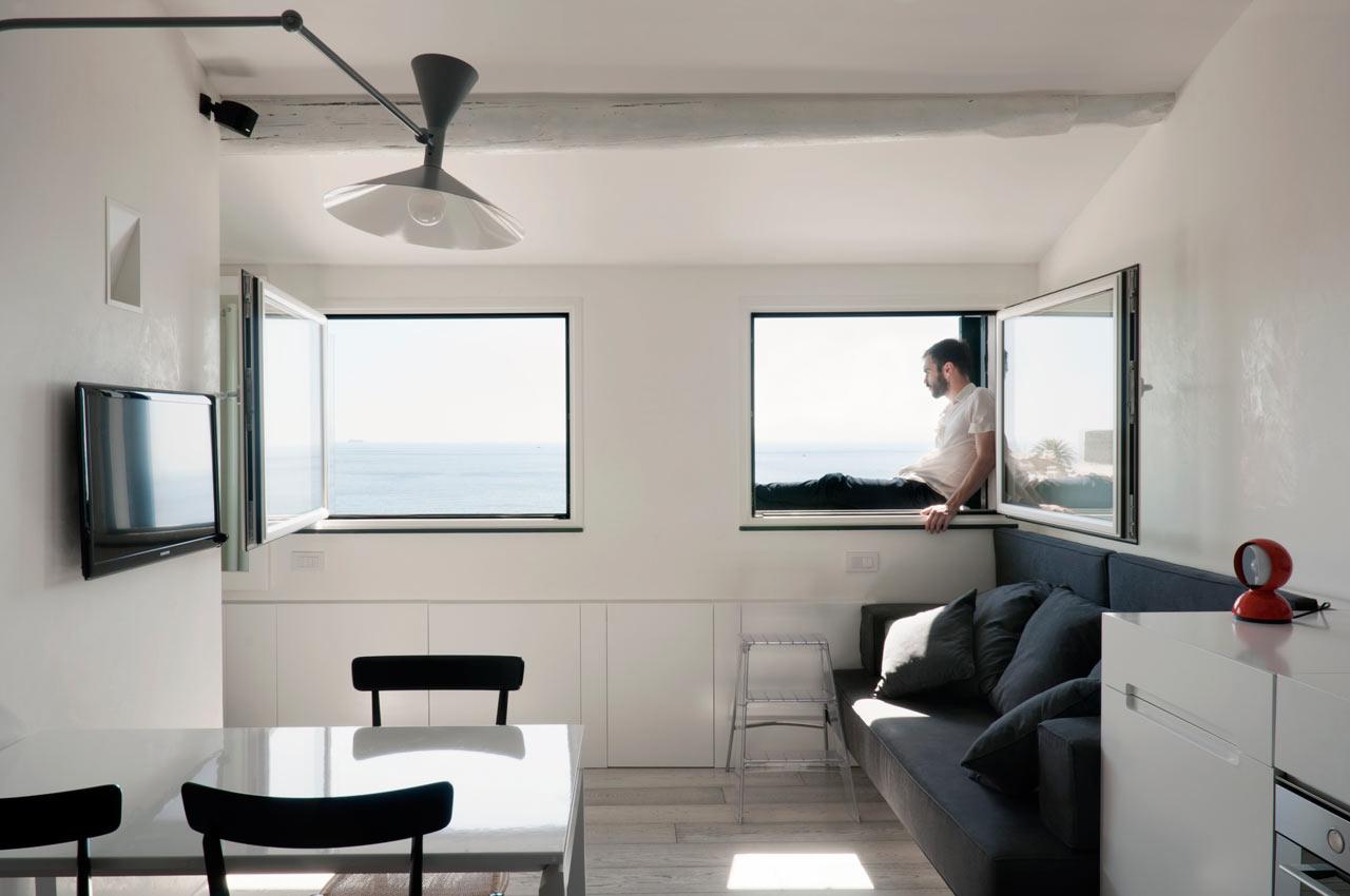 Harbour Attic Apartment by Gosplan