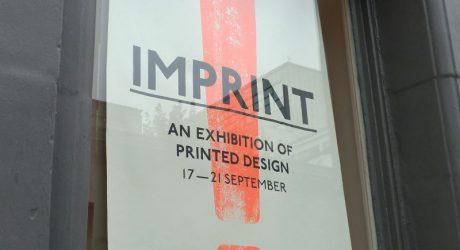 LDF13: Imprint at Craft Central