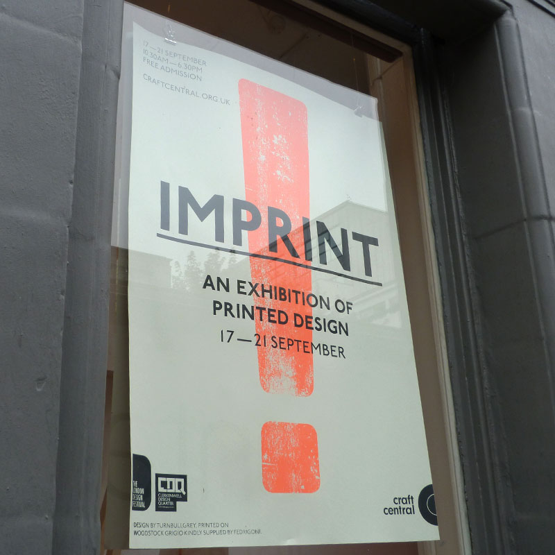 LDF13: Imprint at Craft Central