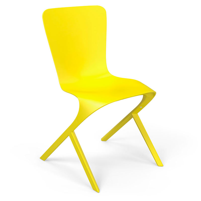 Knoll-David-Adjaye-Washington-10-Skin-Nylon-Chair-yellow