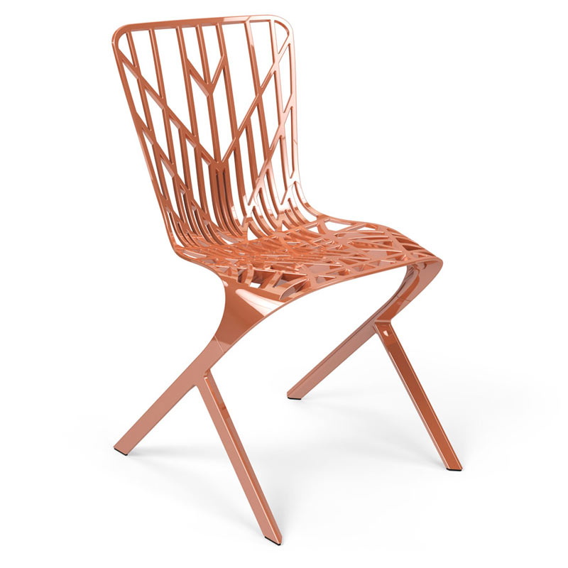 Knoll-David-Adjaye-Washington-5-Skeleton-Aluminum-Chair-copper