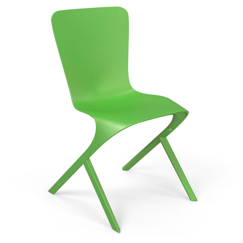 Knoll-David-Adjaye-Washington-8-Skin-Nylon-Chair-lime