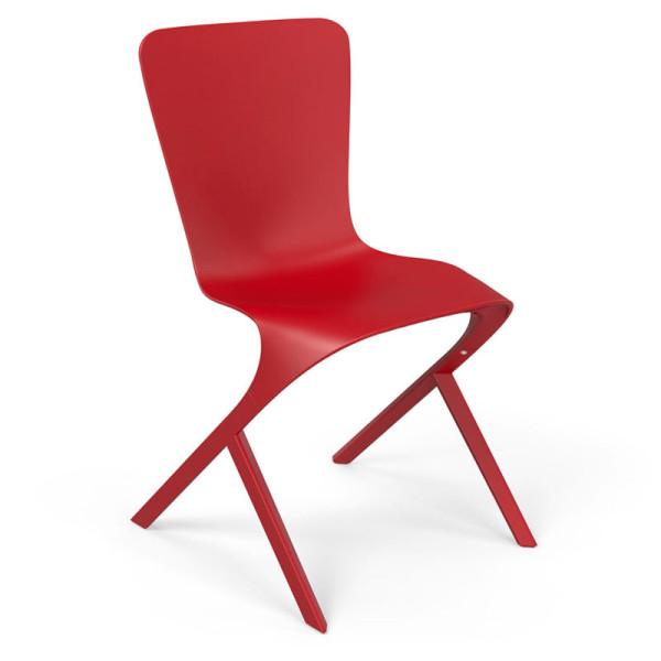 Knoll-David-Adjaye-Washington-9-Skin-Nylon-Chair-red
