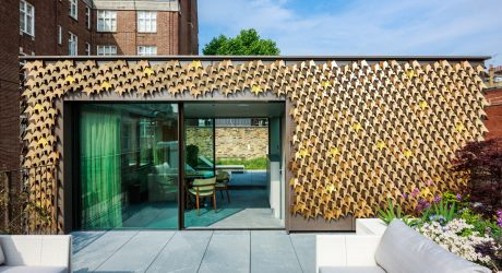 A Leaf-Covered House Grows in London