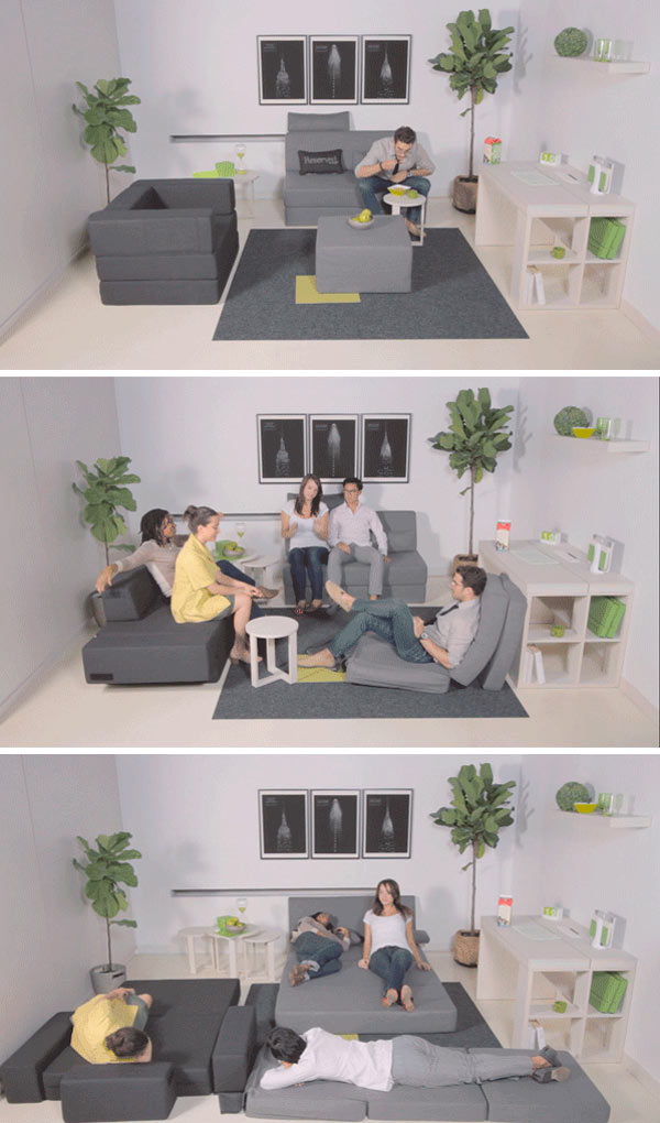 Awesome NYFU Functional Furniture Small Space