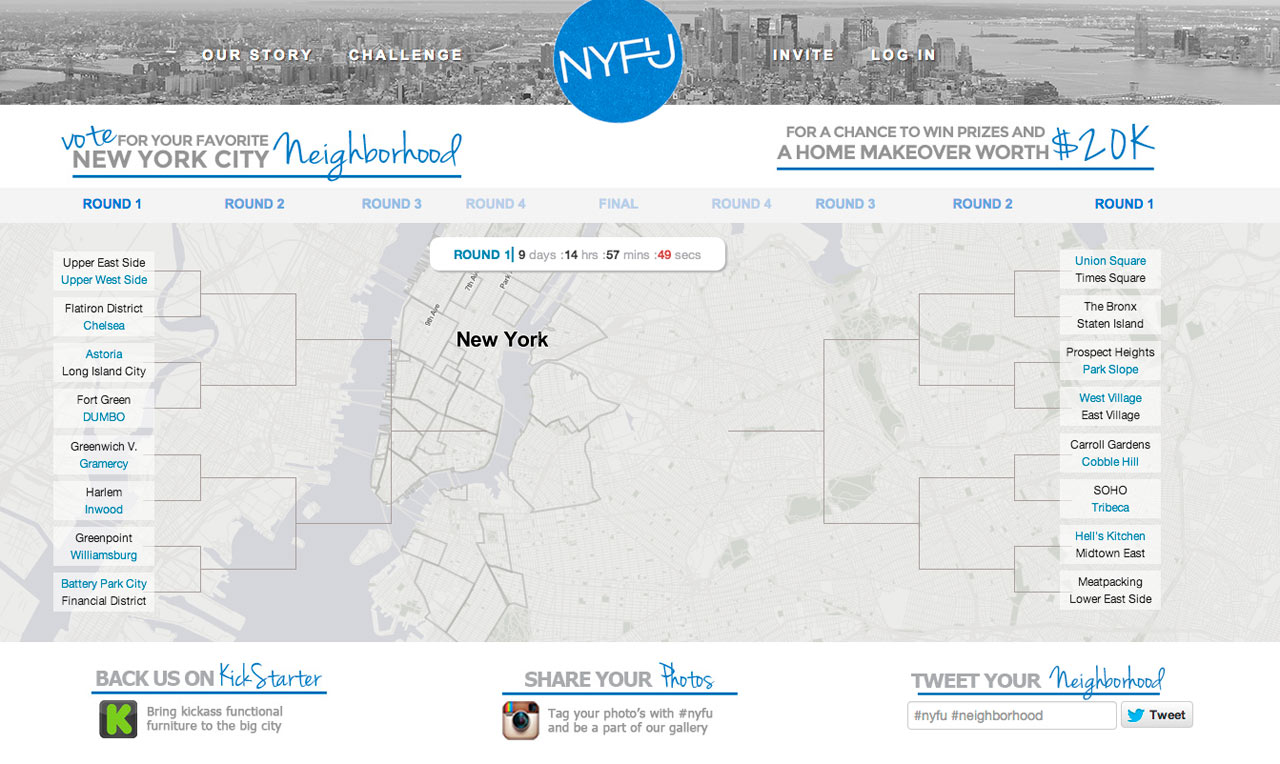 Win A Home Makeover from NYFU Worth $20K