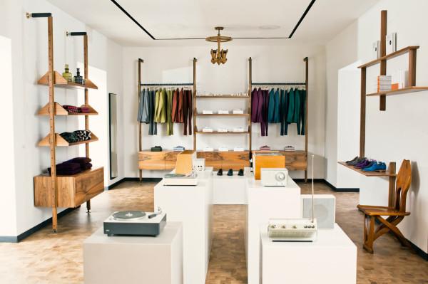 Paul Smith's New London Flagship Shop Design Milk Custom London Furniture Design