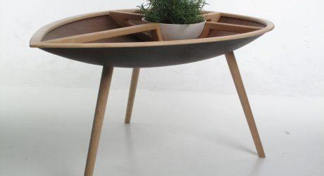 Spire Table & Trialog Chair by Philipp Von Hase