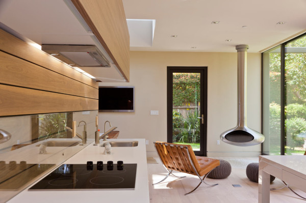Scandinavian Design Addition in Santa Monica in main architecture  Category