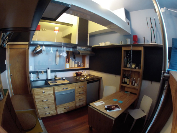 182 Square Foot Micro Apartment in Seattle Design Milk
