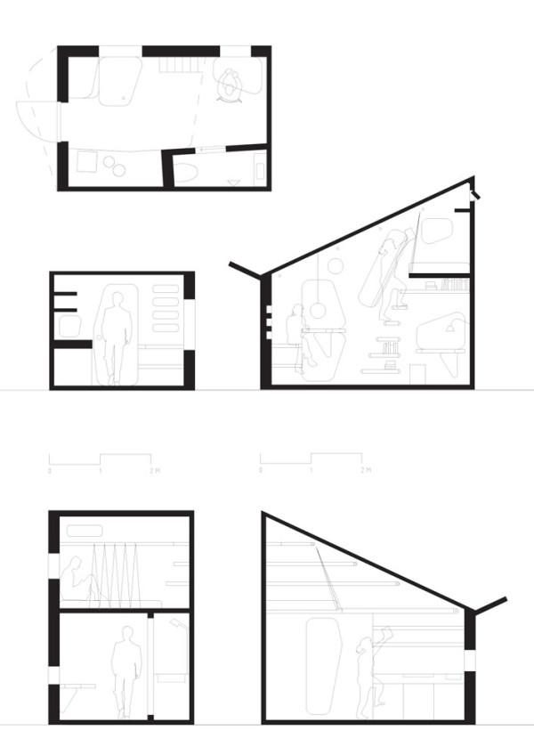 Tengbom-Architects-Student-flat-7-plan-section