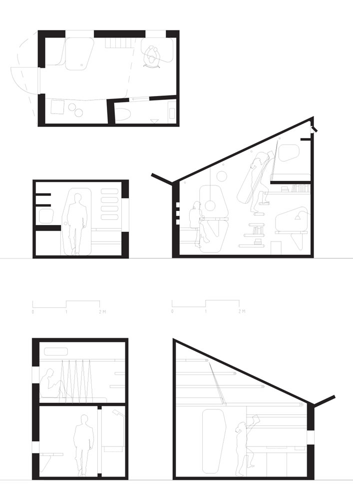 Tengbom-Architects-Student-flat-7-plan-section