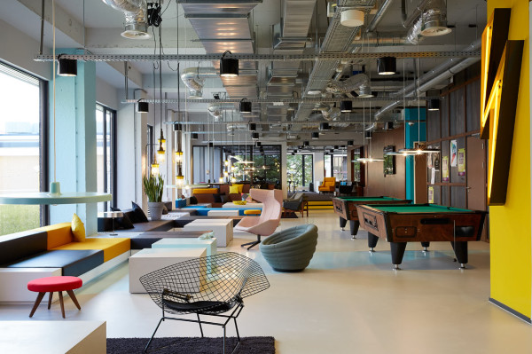 the student hotel amsterdam in interior design architecture category