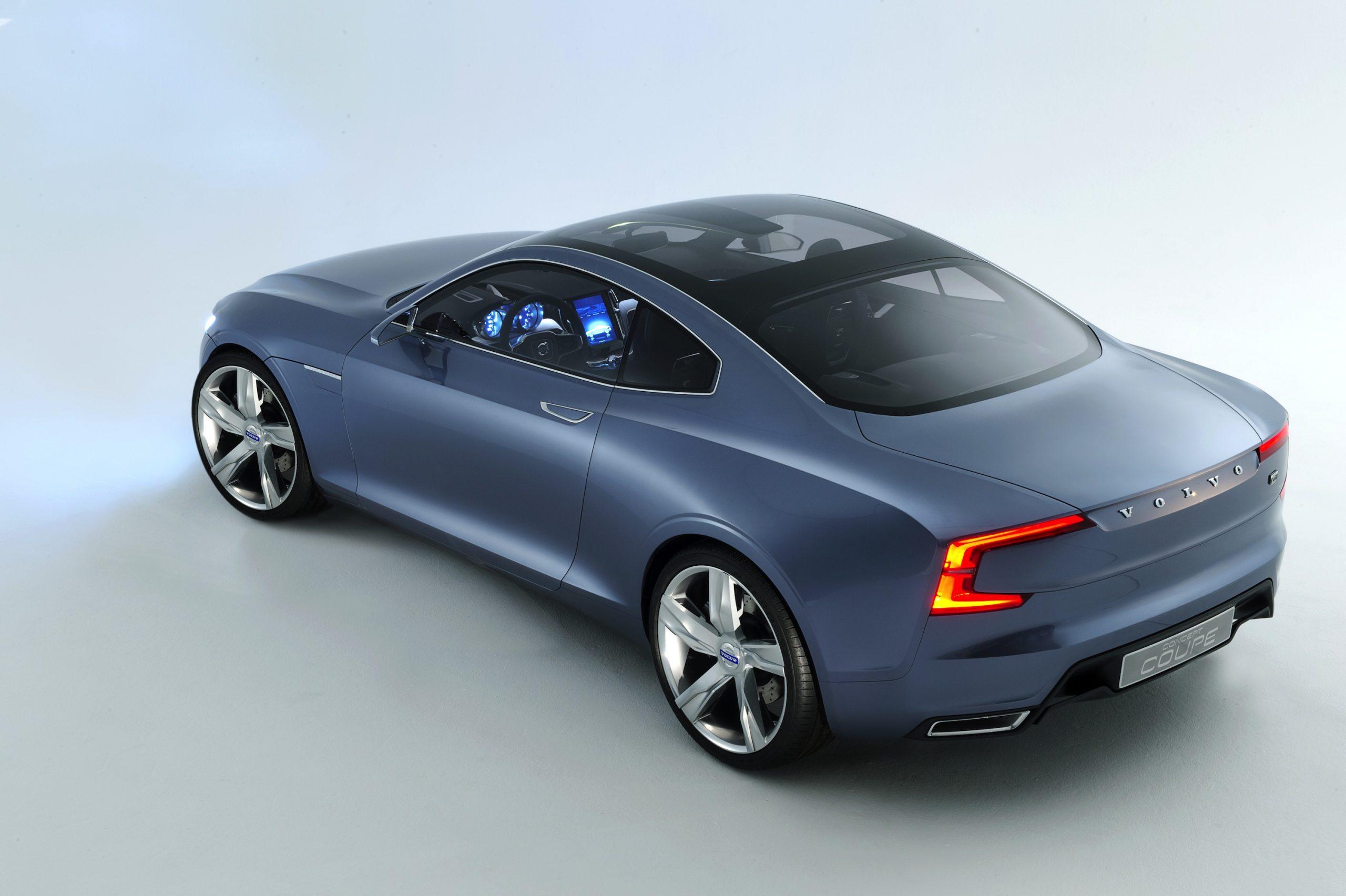 Volvo's Scandinavian Design-Inspired Concept Coupe