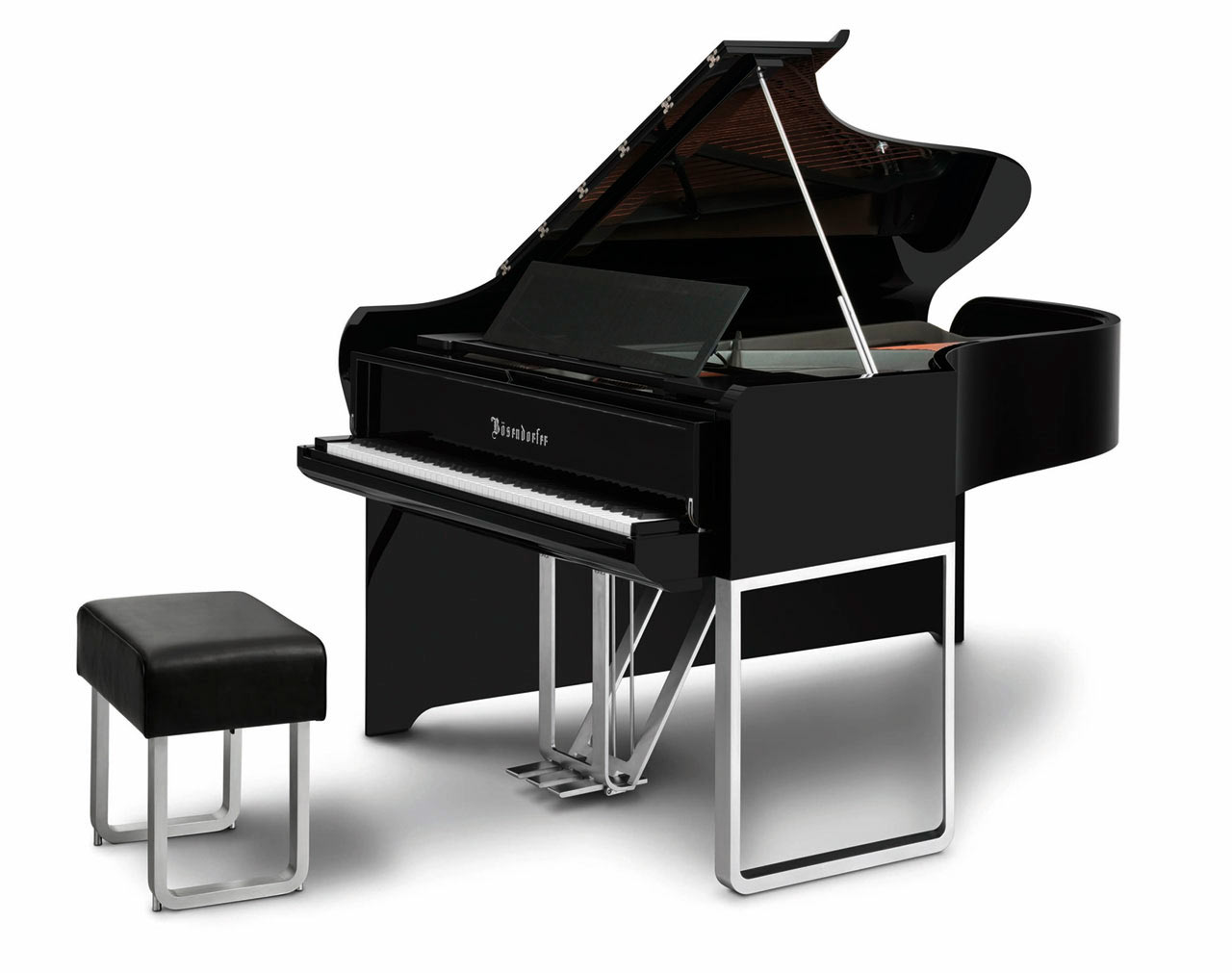 Music to My Eyes: Modern Piano by Audi & Bösendorfer