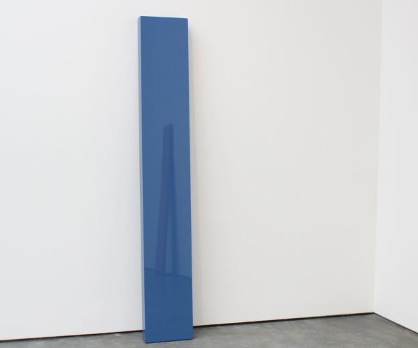 "John McCracken, ""Strato"", 2005 (reflecting ""Untitled"", 1982)"